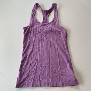 Nike Dri Fit Top XS Purple